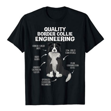 Border Collie Engineering Shirt