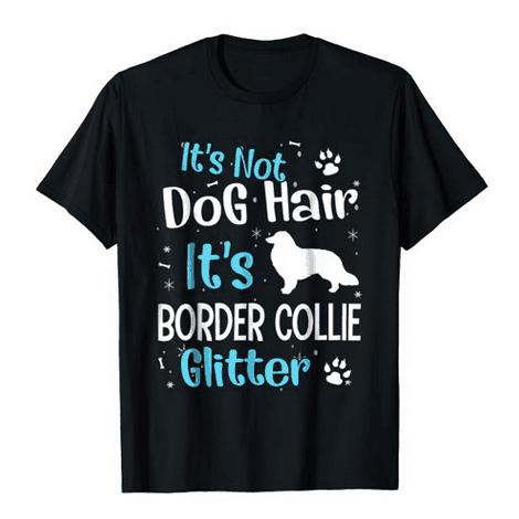 Border Collie Glitter Shirt