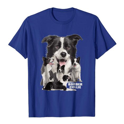 Border Collie Group Portrait Shirt