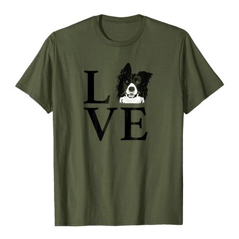 Border Collie Love Tshirt