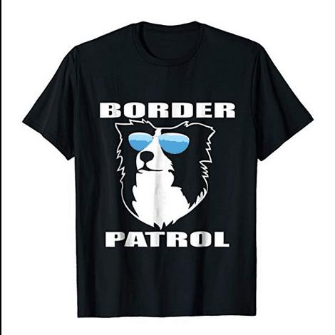 Border Patrol Collie Shirt