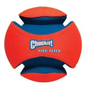 chuckit kick fetch ball