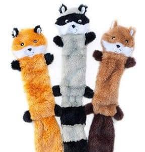 skinny peltz dog toys