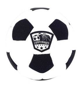 zippypaws sportsballz soccer ball dog toy