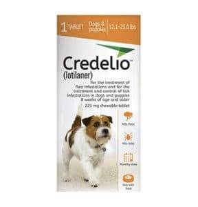 credlio chewable tablets for dogs