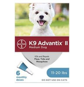 k9 advantix ii topical flea control