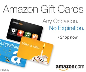 amazon gift cards for pets